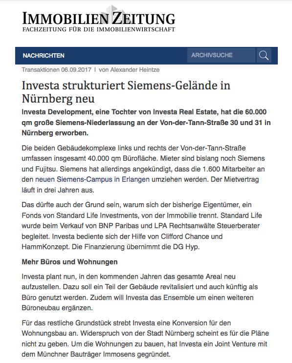 HammKonzept - Projektentwicklung, Immobilienmakler und Investor in Nürnberg, Erlangen und Fürth - Immobilien , Gewerbeimmobilien, Projekt-Entwickler, Projektentwicklung, Hamm Konzept, Peter Hamm